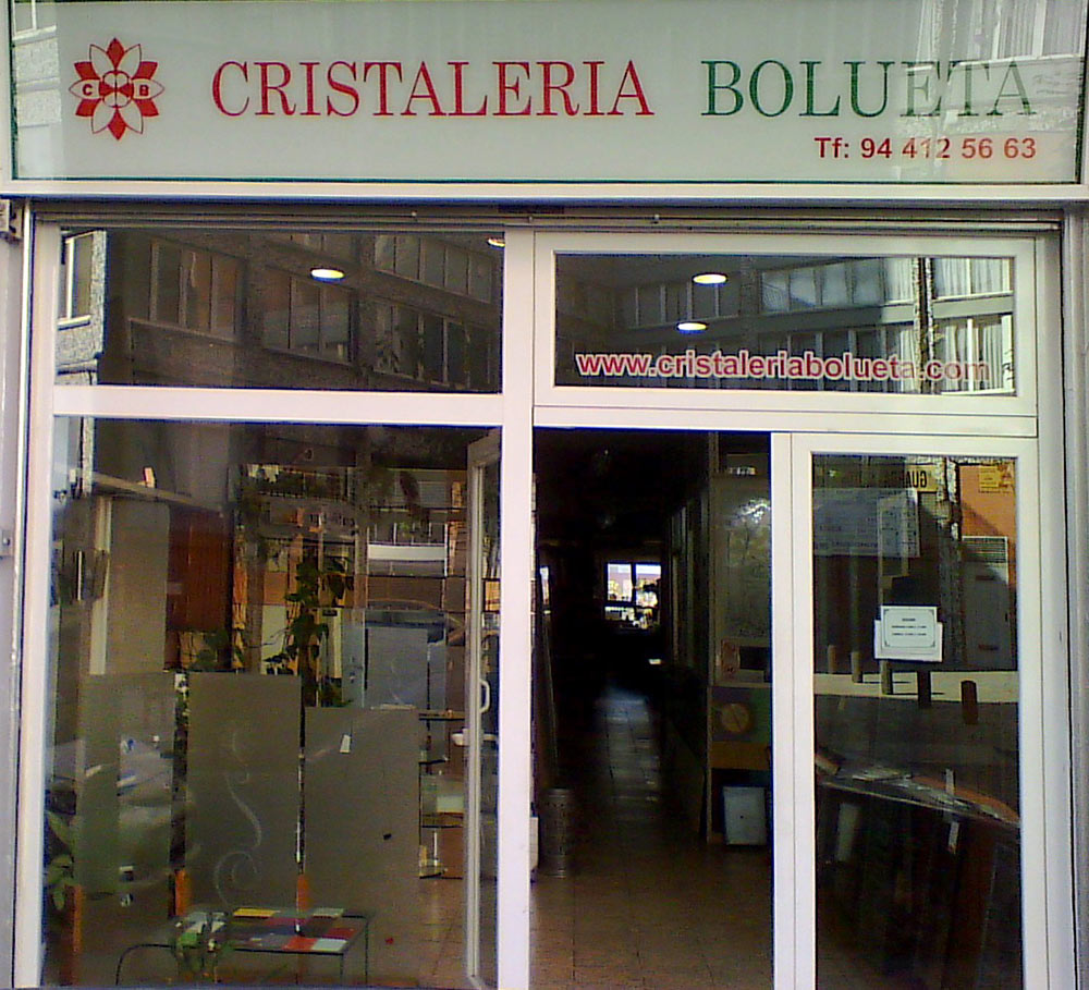 cristaleria bolueta cristales, mamparas y puertas correderas en bilbao