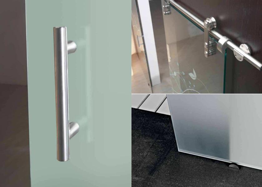 Puertas correderas y decorativas en cristaler a bolueta en - Accesorios puertas correderas ...