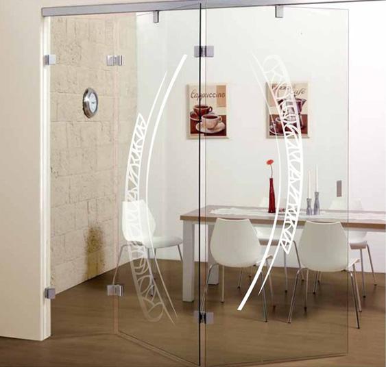 Puertas correderas y decorativas en cristaler a bolueta en for Puertas decorativas para interiores